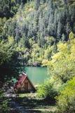 κορσικανικά βουνά βουνών λιμνών λάκκας creno de Γαλλία της Κορσικής στοκ εικόνα με δικαίωμα ελεύθερης χρήσης