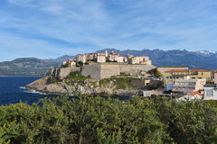 Κορσικανική ακρόπολη του Calvi, Tour de Sel Στοκ Εικόνα