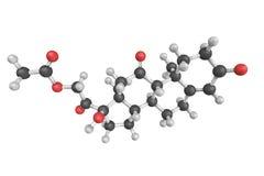 Κορτιζόνη, μια στεροειδής ορμόνη pregnane Μια από τις κύριες ορμόνες στοκ φωτογραφία