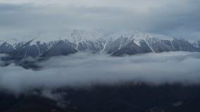 κορυφές βουνών σύννεφων φιλμ μικρού μήκους