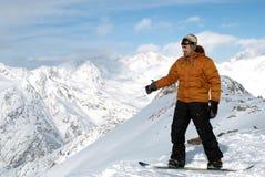 κορυφές subjugator βουνών Στοκ Εικόνες