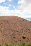 κορυφή ατόμων λόφων στοκ φωτογραφία