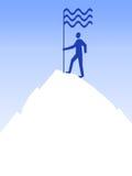 κορυφή ατόμων Στοκ Εικόνες