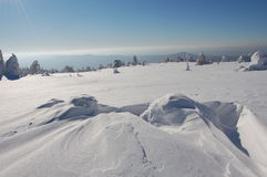κορυφή βουνών Στοκ Φωτογραφίες