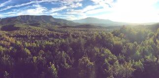 Κορυφή βουνών Gatlinburg στοκ εικόνα με δικαίωμα ελεύθερης χρήσης