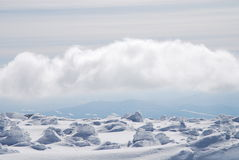 κορυφή βουνών mustag Στοκ Εικόνες