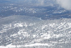 κορυφή βουνών mustag Στοκ φωτογραφία με δικαίωμα ελεύθερης χρήσης