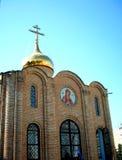 κορυφή εκκλησιών Στοκ εικόνες με δικαίωμα ελεύθερης χρήσης