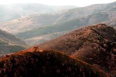 κορυφή λόφων παρεκκλησιώ& Στοκ εικόνα με δικαίωμα ελεύθερης χρήσης