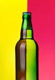 κορυφή μπουκαλιών μπύρας Στοκ Εικόνες