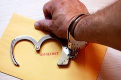 Κορυφή - μυστικό μήνυμα παραδοθε'ν Στοκ φωτογραφίες με δικαίωμα ελεύθερης χρήσης