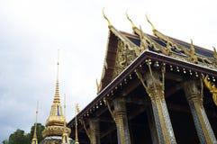 Κορυφή ναών στην πόλη της Μπανγκόκ, Ταϊλάνδη Στοκ φωτογραφίες με δικαίωμα ελεύθερης χρήσης