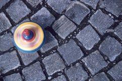 κορυφή περιστροφής Στοκ φωτογραφίες με δικαίωμα ελεύθερης χρήσης