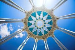 κορυφή στηλών κύκλων Στοκ Φωτογραφίες