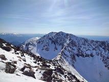 Κορυφή της κορυφογραμμής Borus στοκ εικόνες