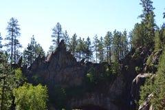 Κορυφή της κυκλικής σήραγγας μέσω του βουνού Στοκ εικόνα με δικαίωμα ελεύθερης χρήσης