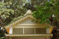 Κορυφή της οικοδόμησης του εσωτερικού παλατιού σουλτανάτων Yogyakarta σύνθετου Στοκ Εικόνες
