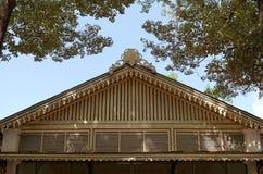 Κορυφή της οικοδόμησης του εσωτερικού παλατιού σουλτανάτων Yogyakarta σύνθετου Στοκ Εικόνα