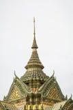 Κορυφή της στέγης ναών, Wat Pho, Ταϊλάνδη Στοκ εικόνες με δικαίωμα ελεύθερης χρήσης