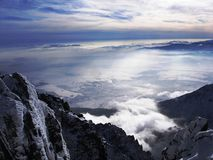 Κορυφή της Σλοβακίας Στοκ Εικόνες