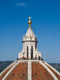κορυφή της Φλωρεντίας duomo κ& Στοκ φωτογραφία με δικαίωμα ελεύθερης χρήσης