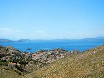 Κορυφή του βουνού Hydra, Ελλάδα Στοκ εικόνα με δικαίωμα ελεύθερης χρήσης