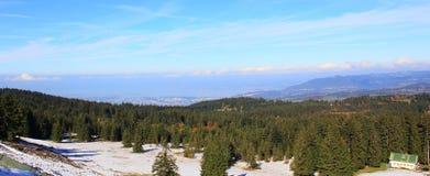Κορυφή του λόφου Στοκ Εικόνα