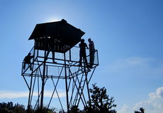 Κορυφή του παρατηρητηρίου. Στοκ φωτογραφία με δικαίωμα ελεύθερης χρήσης
