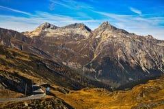 Κορυφή του περάσματος Splugen στοκ φωτογραφία με δικαίωμα ελεύθερης χρήσης