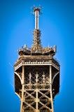 Κορυφή του πύργου του Άιφελ, Παρίσι, Γαλλία Στοκ Εικόνα