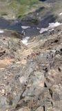 Κορυφή των βράχων Στοκ εικόνες με δικαίωμα ελεύθερης χρήσης