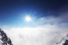 Κορυφή των ορών Στοκ Φωτογραφία