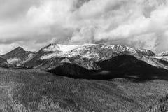 κορυφή χιονιού Στοκ Εικόνες