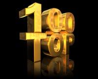 κορυφή 100 Στοκ Εικόνες