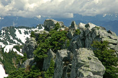 κορυφή Στοκ Φωτογραφία