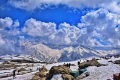 Κορυφή Gulmarg στοκ φωτογραφία με δικαίωμα ελεύθερης χρήσης