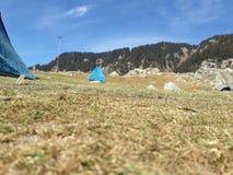 Κορυφή Hill Triund Στοκ εικόνα με δικαίωμα ελεύθερης χρήσης