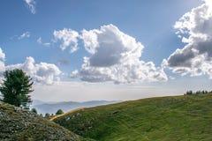 Κορυφή Mukshpuri Στοκ εικόνα με δικαίωμα ελεύθερης χρήσης