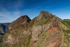 Κορυφή Pico do Arieiro Στοκ φωτογραφίες με δικαίωμα ελεύθερης χρήσης