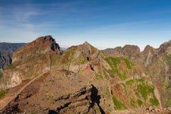 Κορυφή Pico do Arieiro Στοκ Εικόνες