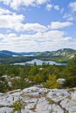 κορυφαία όψη βουνών Στοκ εικόνες με δικαίωμα ελεύθερης χρήσης