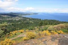 κορυφαία όψη βουνών Στοκ εικόνα με δικαίωμα ελεύθερης χρήσης
