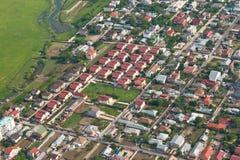 κορυφαία όψη γειτονιάς Baneasa στοκ φωτογραφίες με δικαίωμα ελεύθερης χρήσης