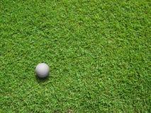 κορυφαία όψη γκολφ σφαιρ Στοκ φωτογραφία με δικαίωμα ελεύθερης χρήσης