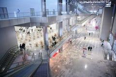 κορυφαία όψη εμπορικών κέντρων Στοκ Εικόνες