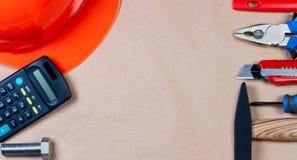 κορυφαία όψη εργαλείων &epsilon Στοκ φωτογραφίες με δικαίωμα ελεύθερης χρήσης