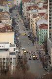 κορυφαία όψη σημείου pano του Κίεβου στοκ φωτογραφίες