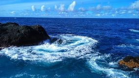 κορυφαία όψη του Ατλαντικού Ωκεανού Στοκ εικόνα με δικαίωμα ελεύθερης χρήσης