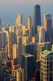κορυφαία όψη του Σικάγο&upsil στοκ φωτογραφία με δικαίωμα ελεύθερης χρήσης