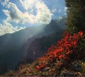 Κορυφογραμμές, απότομοι βράχοι, ανοιχτός χώρος στοκ φωτογραφία με δικαίωμα ελεύθερης χρήσης